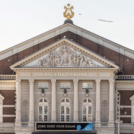 Amsterdam Concertgebouw. Take care and help from above.